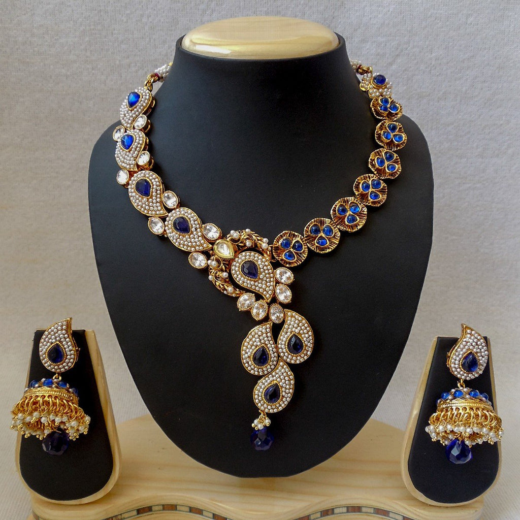 Necklace Royal Blue