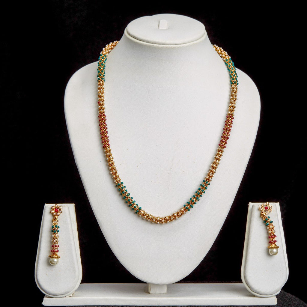 Necklace Red Green