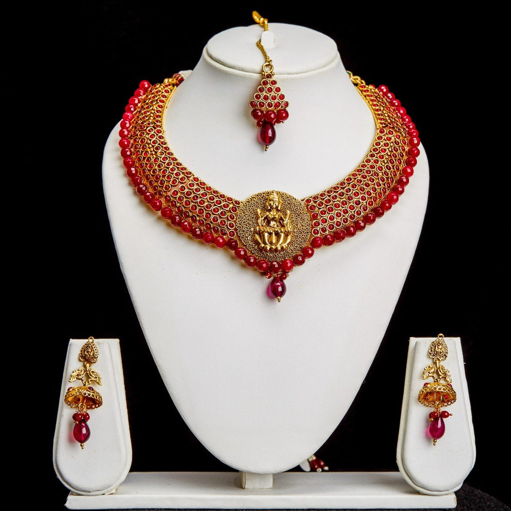 Necklace Maroon