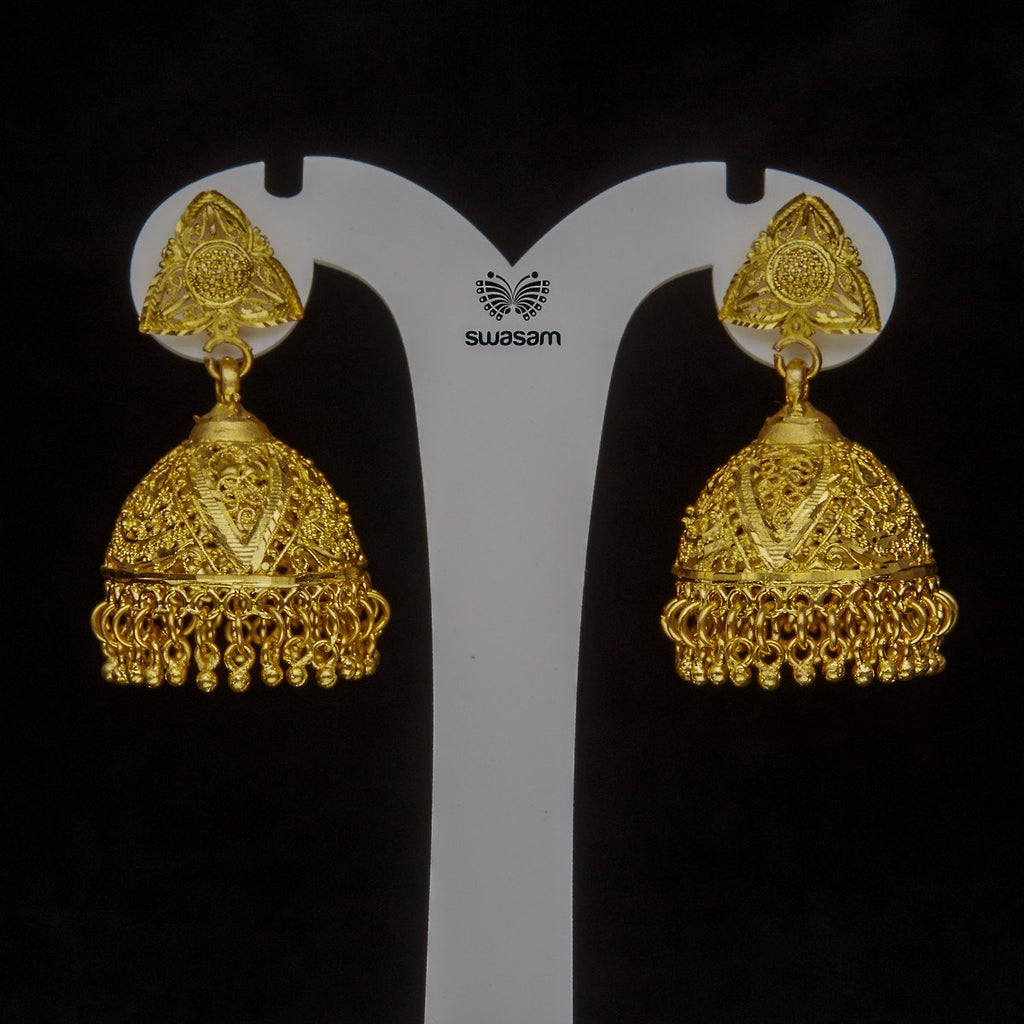 Earrings Gold Plated