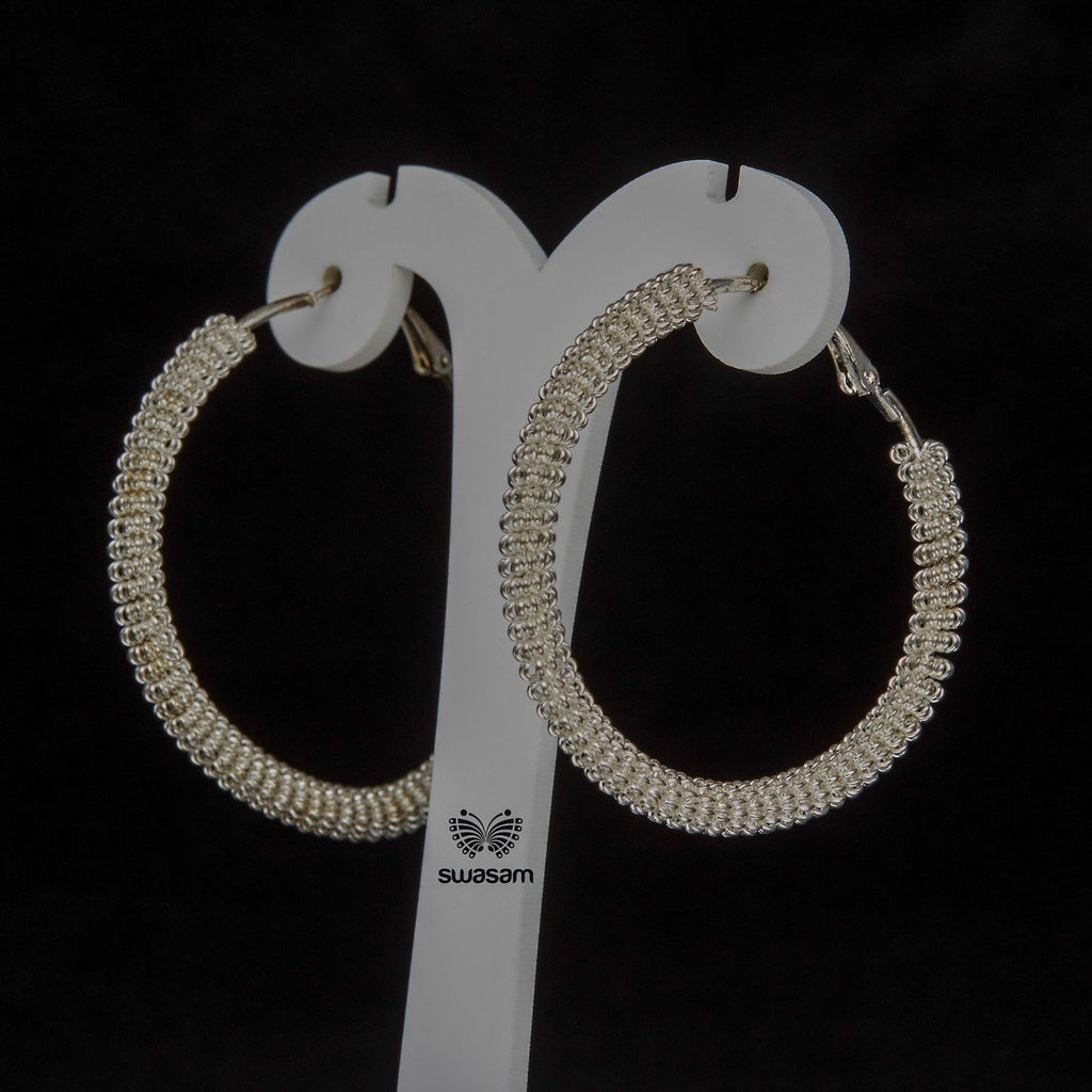 Earrings Silver