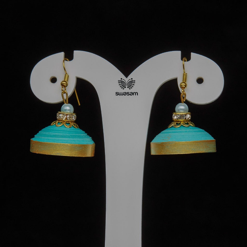 Earrings Aqua Blue