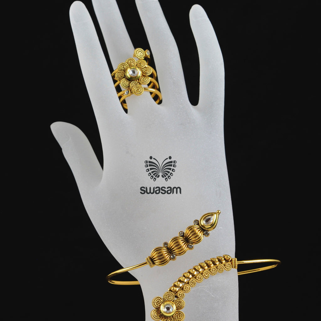 Hand Pieces White Stone