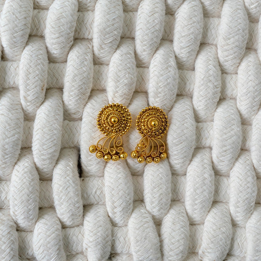 Studs Antique Gold