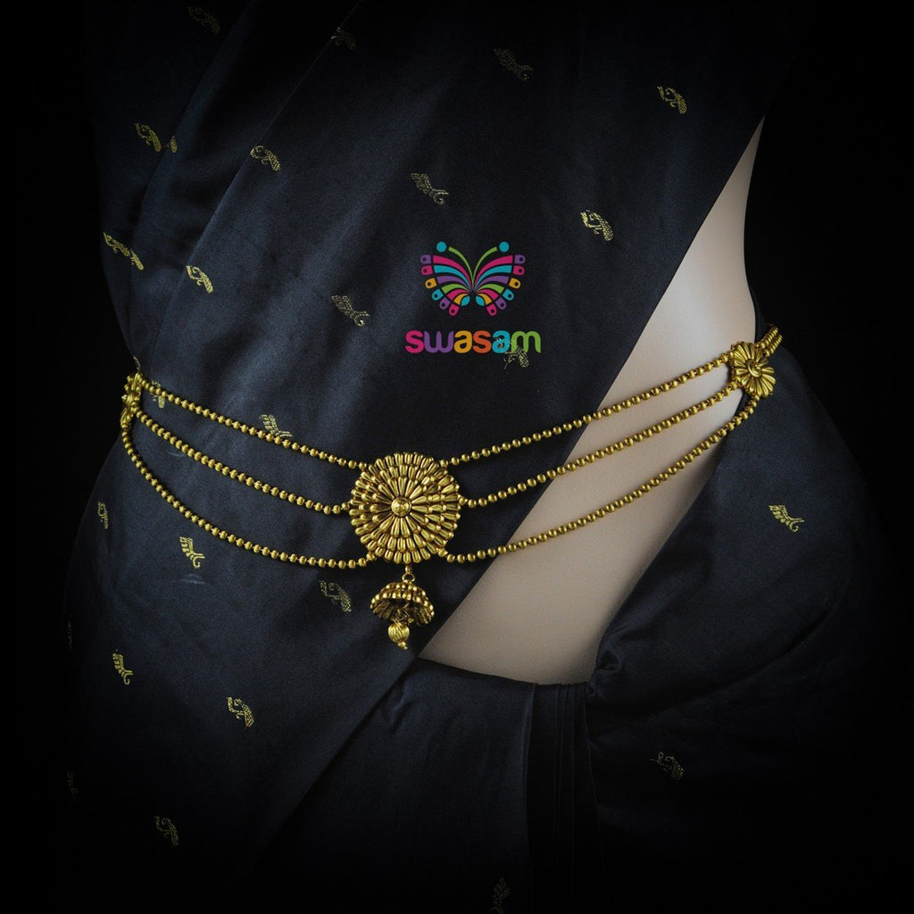 Waist Chain Antique Gold