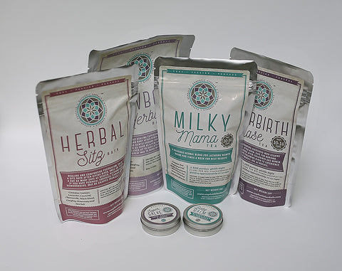 Herbal Postpartum Set - Euphoric Herbals