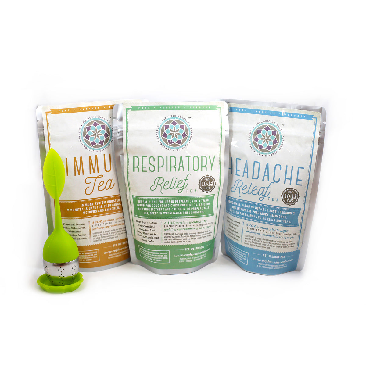 Wellness Tea Bundle - Euphoric Herbals