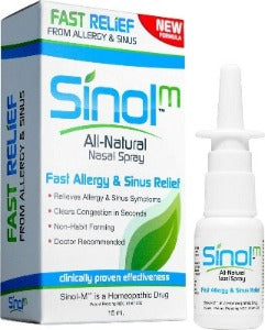 Sinol Nasal Spray for allergy & sinus relief - Euphoric Herbals