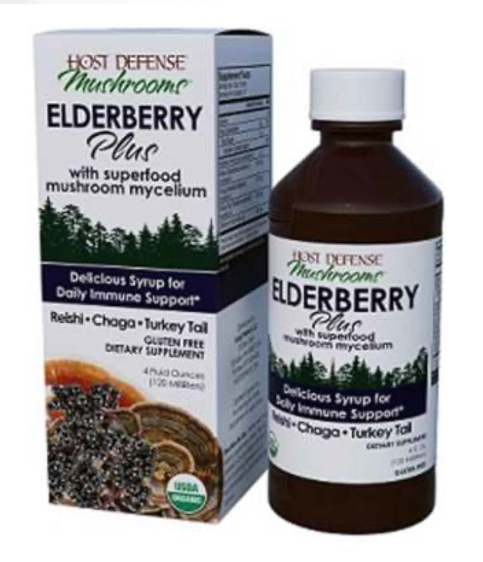 Elderberry Syrup Plus