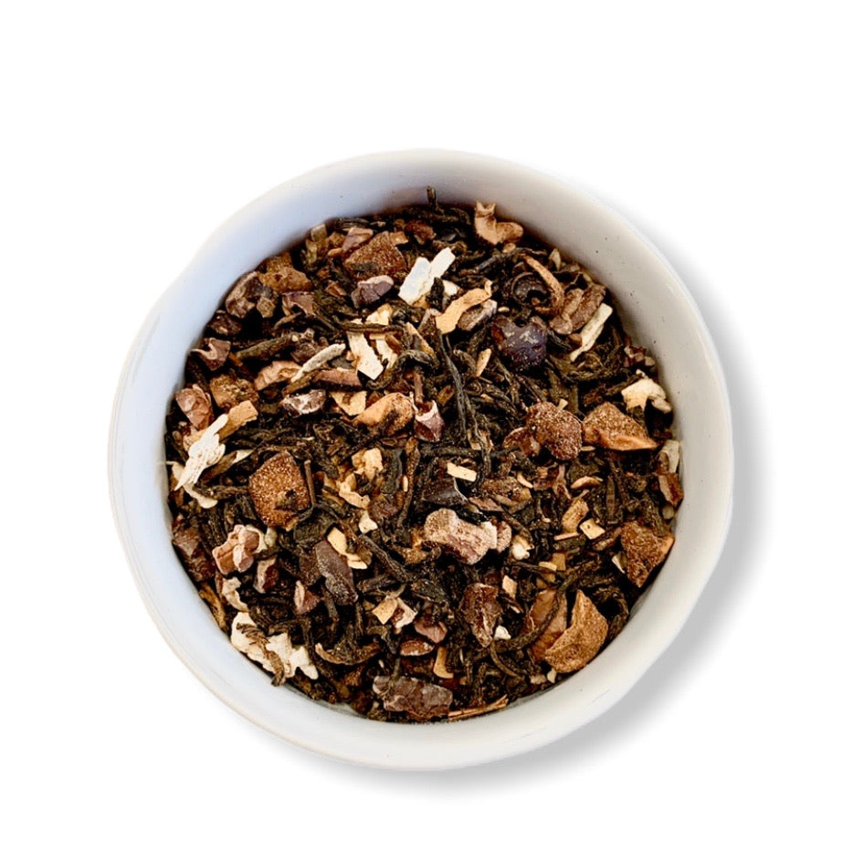 Coconut Chocolate Truffle Tea - Euphoric Herbals