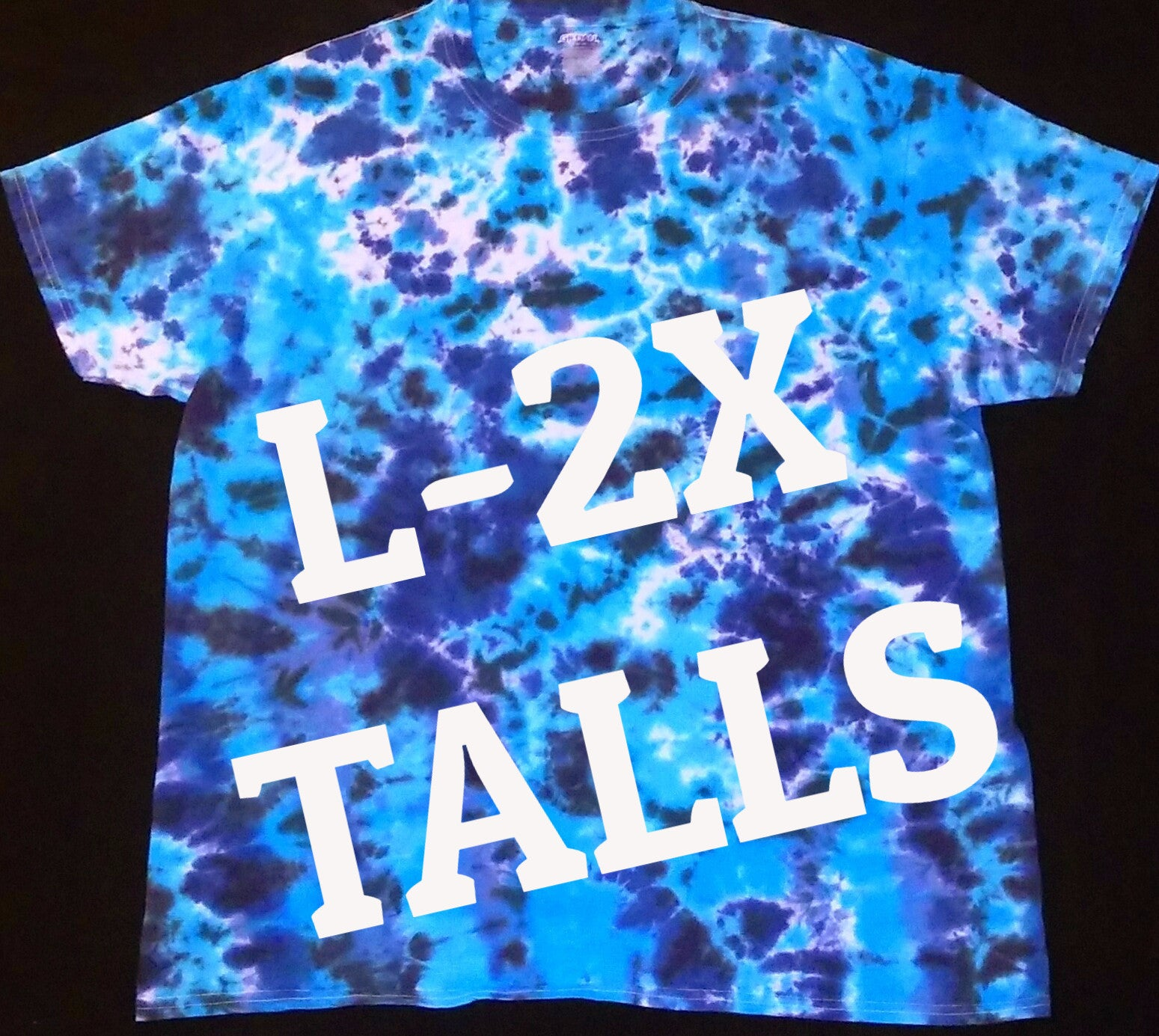 BOAT WATER TIE DYE TALL T-SHIRT