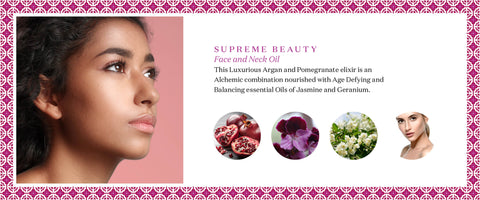 SUPREME BEAUTY Argan and Pomegranate Face Oil