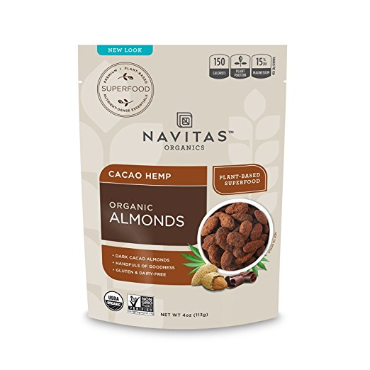 Cacao Hemp Almonds Superfood (4oz)