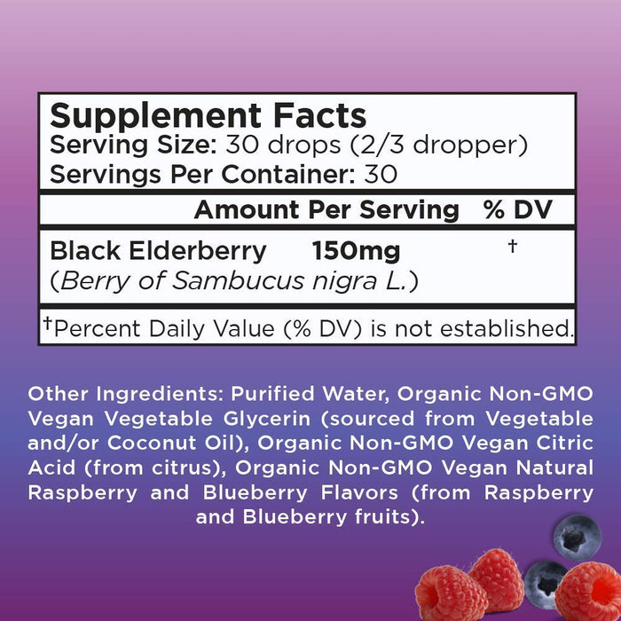 Elderberry Drops (1oz)