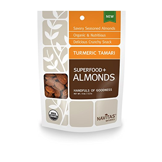 Turmeric Tamari Almonds Superfood (4oz)
