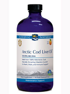Arctic Cod Liver Oil Orange 16 oz