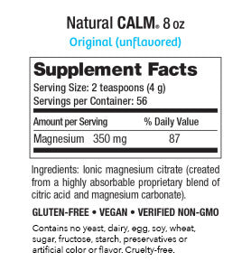 Natural Calm Original (Unflavored) 8oz