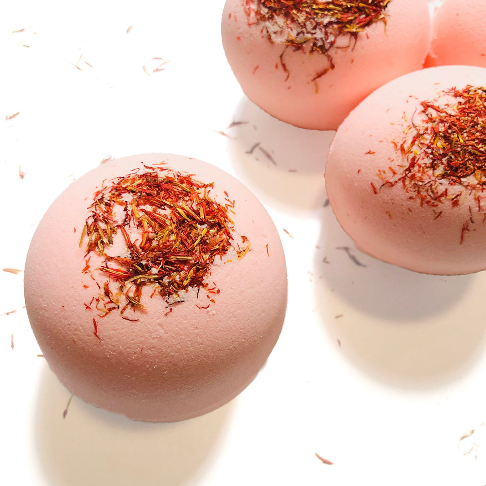 Grapefruit Essential Oil Bath Bomb (7oz)