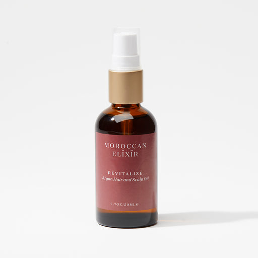 REVITALIZE Hair and Scalp Tonic - Moroccan Elixir Pure Argan Oil