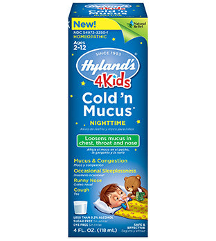 Hyland's 4 Kids Cold 'n Mucus Nighttime
