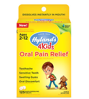 Hyland's 4 Kids Oral Pain Relief Tablets