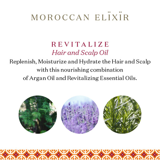 REVITALIZE Argan Hair and Scalp Oil