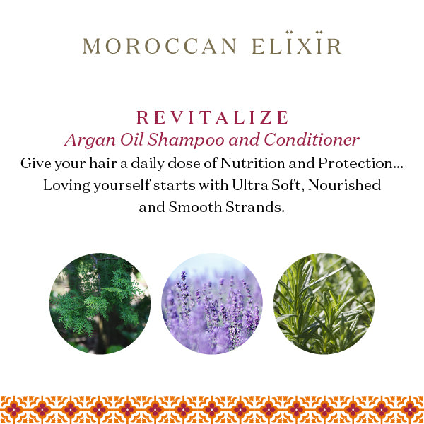 REVITALIZE Argan Daily Shampoo