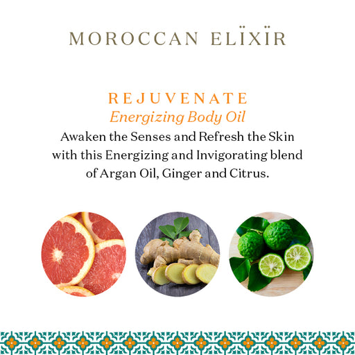 REJUVENATE Energizing Argan Body Oil
