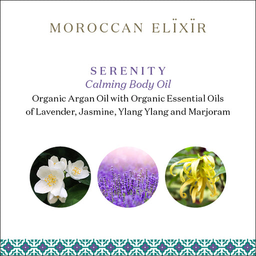 SERENITY Relaxing Argan Body Oil