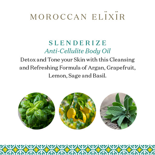 SLENDERIZE Detoxifying Argan Anti-Cellulite Oil