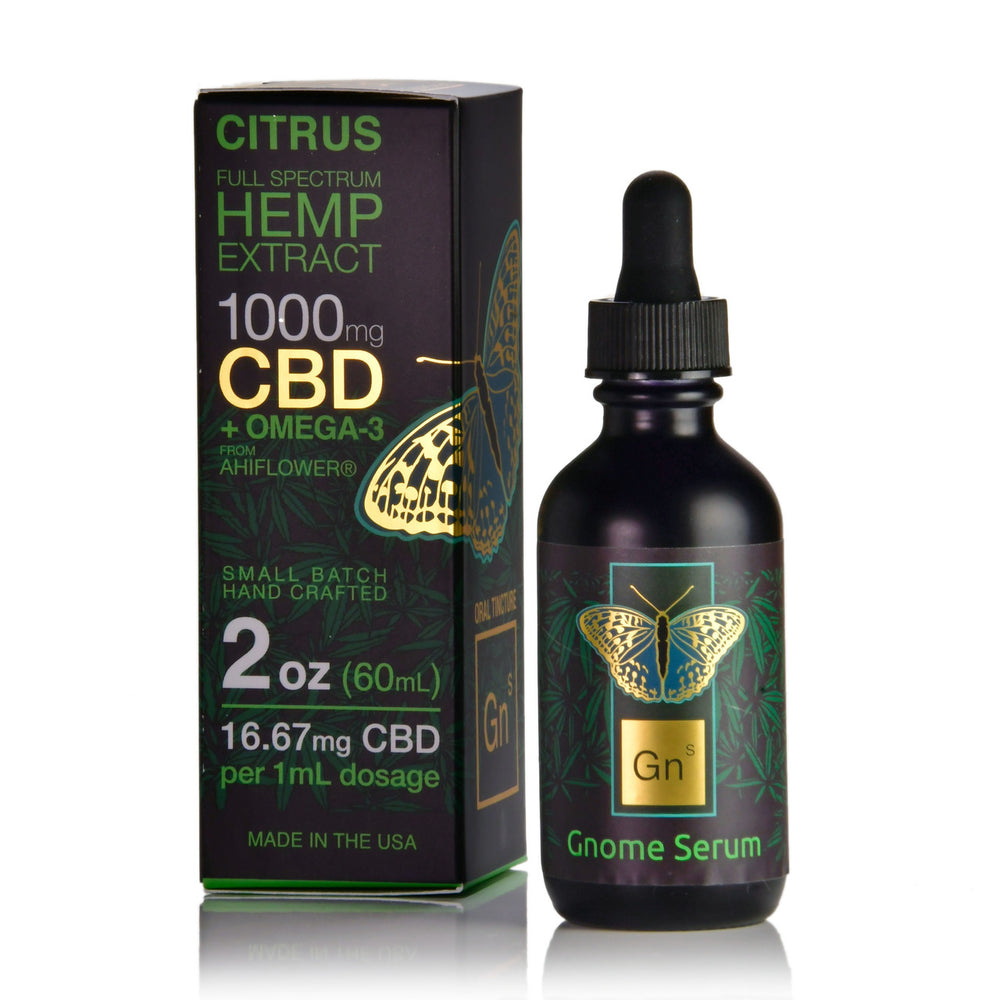 Full Spectrum Hemp Extract 1000mg (Citrus Flavor)
