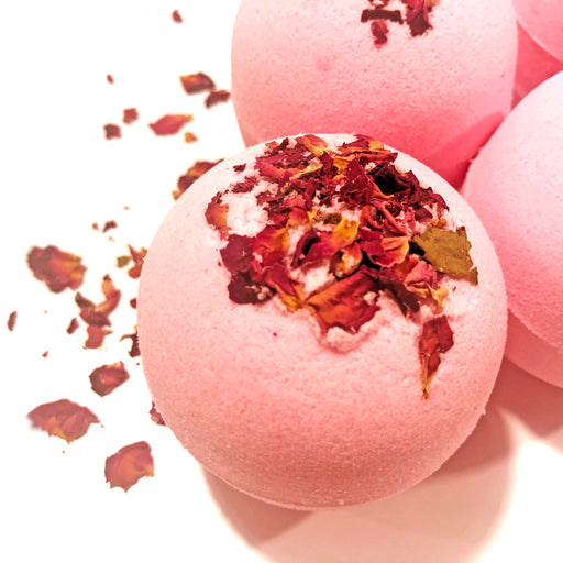 Wild Rose Bath Bomb. (7oz)