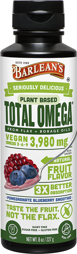 Total Omega Vegan (pomegranate-blueberry flavor) 16oz