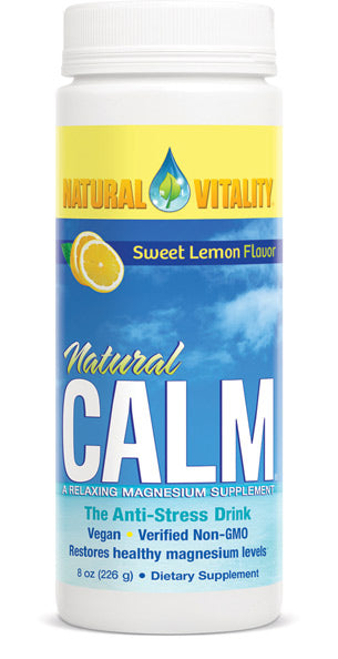 Natural Calm Organic Sweet Lemon 8oz