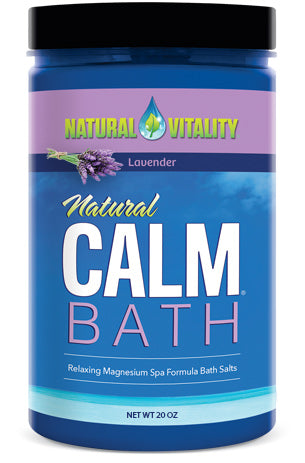 Natural Calm Bath – Lavender (20 oz)