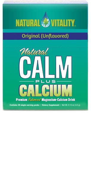 Natural Calm Plus Calcium Packets Original (Unflavored) (30 count)