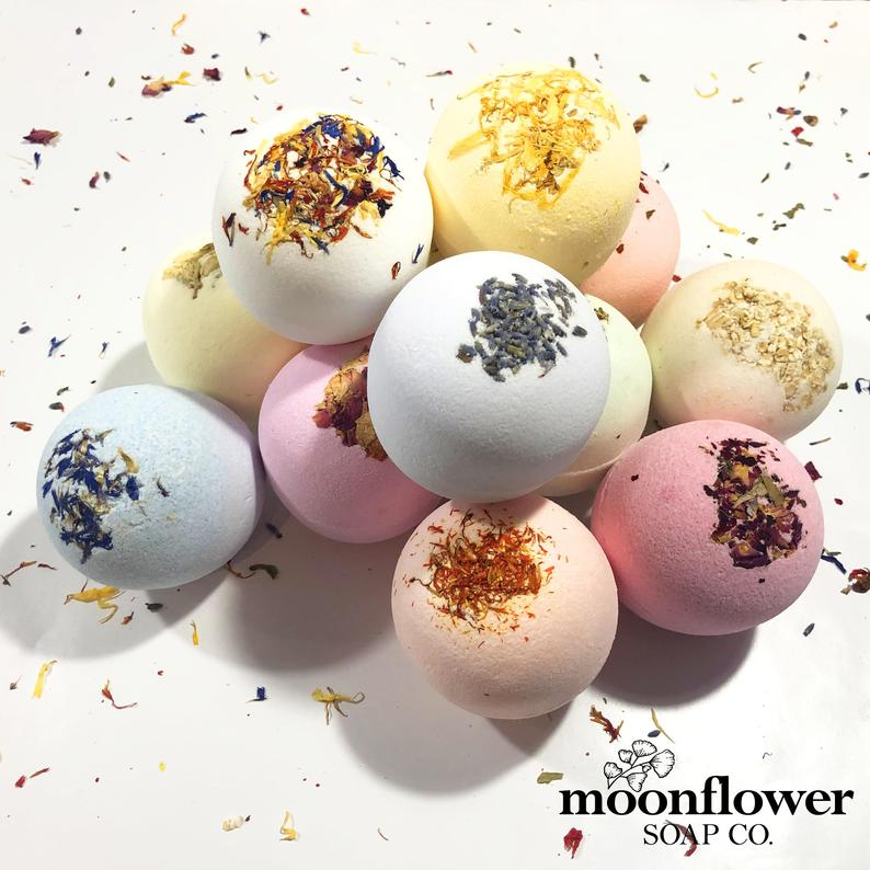 Moroccan Flower Bath Bomb Collection (8 pack)