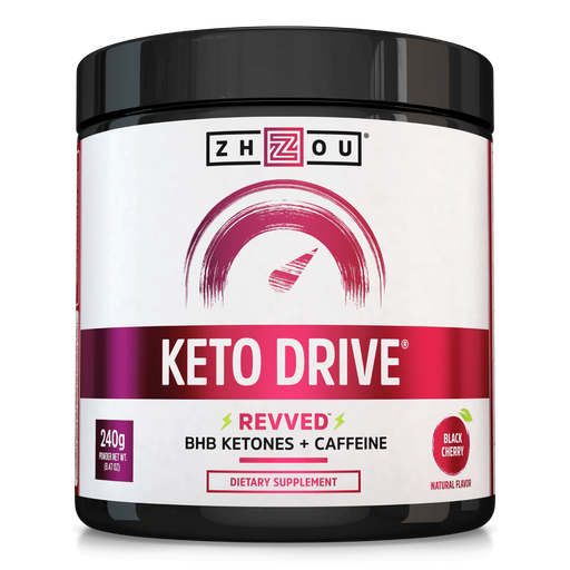 Keto Drive REVVED Black Cherry