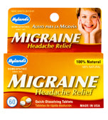 Migraine Headache Relief Tablets