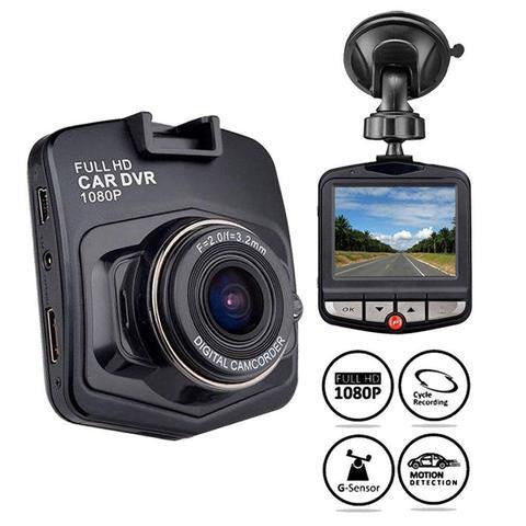 1080p HD DVR Safety Dash Camera with Night Vision - #1 Solution for Car Safety