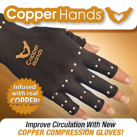 Copper Hands - #1 Solution to Arthritis