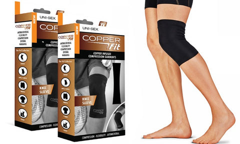 Copper Fit Knee Brace - #1 Solution to Knee Pain Relief