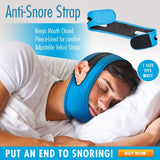 Anti-Snore Strap - #1 Solution to Stop Snoring!