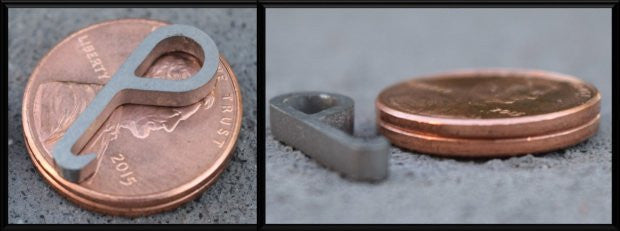 Titanium Bottle Opener - World's Smallest & Strongest Bottle Opener