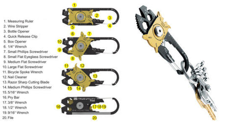 20-in-1 Utility Fixer - #1 Pocket Tool