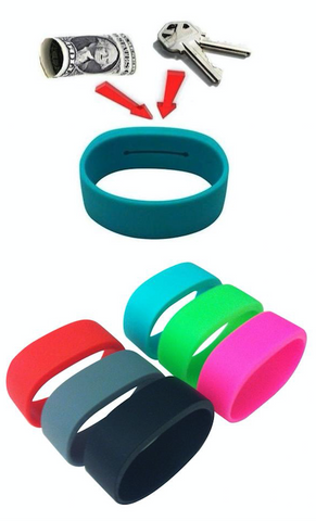WristBands - #1 Solution to Secure Your Keys & Money