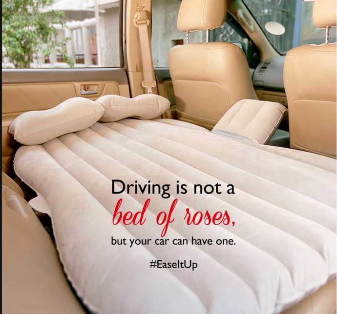 Inflatable Travel Car Bed - Over 100,000 Sold Worldwide!