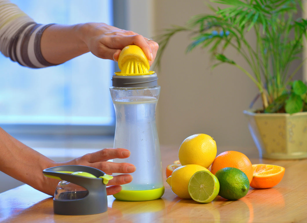 Circle Infuser Travel Bottle -#1 Best Selling Water Bottle