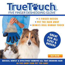 True Touch - Mess Free Pet Comb!