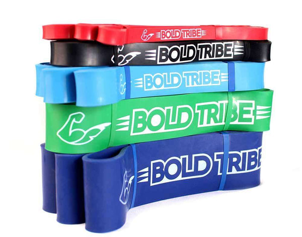 Legend Body Pack: 5 Bandas Elásticas Bold Tribe